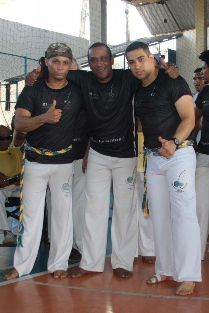 Mestre Vagalume、一緒に昇段したCM Bahiano